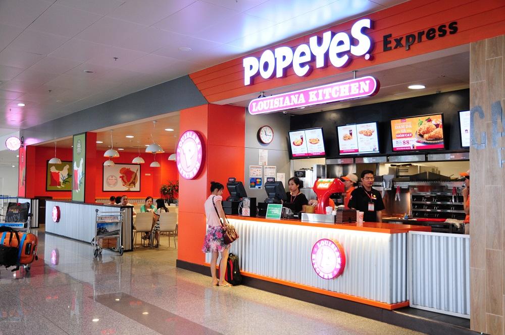 Dịch vụ ăn uống tại sân bay Nội bài