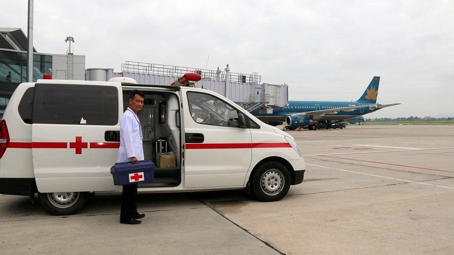 Dịch vụ y tế tại sân bay Nội bài Hà nội