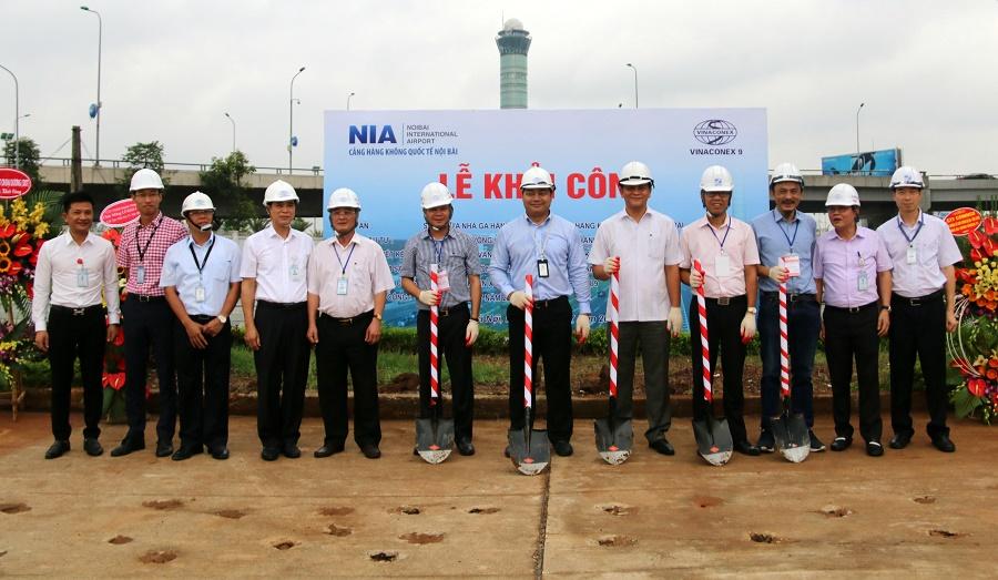 Cảng hàng không quốc tế Nội bài sửa chữa nhà ga T1